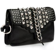 Giuseppe Zanotti Bag Women ($675) ❤ liked on Polyvore featuring bags, handbags, clutches, purses, bolsas, accessories, studded handbags, studded purse, man bag and giuseppe zanotti handbags