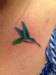 small hummingbird tattoo on wrist - Google Search