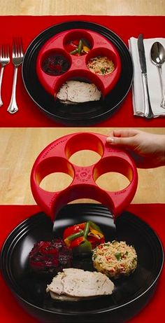 Meal Measure - Portion Control on Your Own Plate can help you lose weight and live healthy. Now it is Easy to manage your daily intake with the Meal Measure. Portion Control Plate, Portion Plate, Get Healthy, Healthy Recipes, Eating Healthy, Healthy Tips, Easy Recipes, Food Portions, Just In Case