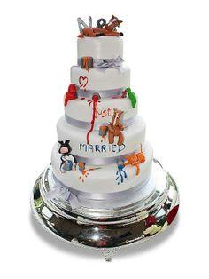 PuurTaart :: Taartengalerij - Bruidstaart - Wedding cake Beestenboel