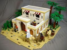 Desert Outpost : a LEGO® creation by Peter deYeule Lego Games, Lego Activities, Hama Beads Minecraft, Perler Beads, Cool Monsters, All Lego, Lego Castle, Lego Storage, Lego Building