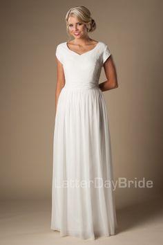 modest wedding dresses Maye affordable