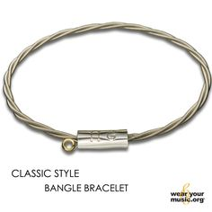 John Mayer Guitar String Bracelet - handcrafted from strings that have been used and donated by John Mayer - size Adult Sm/Md / 8 inches $200