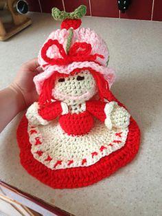 Old School Strawberry shortcake Crochet Security Blanket, Crochet Lovey, Lovey Blanket, Crochet Dolls, Free Crochet, Craft Patterns, Baby Patterns, Crochet Patterns, Baby Afghans