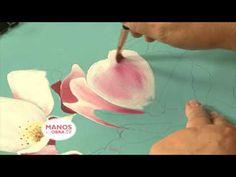 Como pintar cuadro de flores al Oleo - YouTube                              …