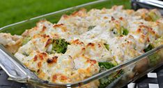 Low-carb oven dish with fish - weight loss recipe (TIP) - Want to make a low-carb dish with fish? View The Tastiest Recipe Here You Also Activate Fat Burning - Oven Broccoli, Broccoli And Potatoes, Chicken Broccoli, Healthy Dinner Recipes, Low Carb Recipes, Vegetable Slow Cooker, Oven Dishes, Vegetable Seasoning, Blueberry Recipes