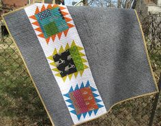 a little gray: Sparkle Baby Quilt Done!