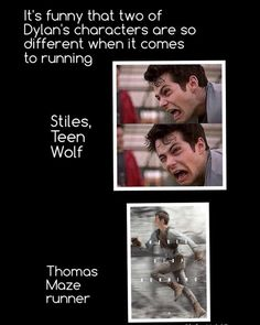 thomas, teen wolf, and stiles afbeelding