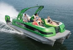 Today's pontoons are big, bad and as fast as all get out, with quality construction that can hang with almost any stye of boat. Take a look at some of the best pontoon boats available on the market for Small Pontoon Boats, Pontoon Boats For Sale, Fishing Pontoon Boats, Wooden Speed Boats, Wooden Boats, Manitou Pontoon, Small Boats For Sale, Pontoon Boat Accessories, Boat Motors For Sale