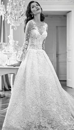 Featured Dress: Maison Signore; Wedding dress idea.