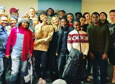 #Madonna spent the Thanksgiving at a Homeless LGBT Youth Center