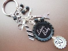 50 Shades of Grey Inspired SEALED bottle cap by OhSoCuteandQuirky, $15.00