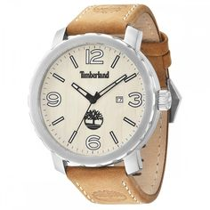 Timberland Strap Watch This Timberland 'Pinkerton timepiece is styish yet durable Case: Case: stainless steel Band: Leather Round Dial Date Display Timberland Style, Timberland Mens, Timberland Watches, Gents Watches, Seiko Watches, Armani Watches For Men, Unisex, Watch Brands, Leather