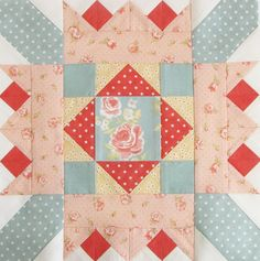 Mystery Block of the Month 2 - Pretty by Hand - Pretty By Hand