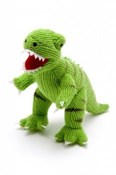 Knitted T. rex
