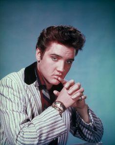 """Elvis Presley """"Jailhouse Rock"""" publicity photo."""