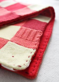 blanket upcycle | upcycled wool baby blanket by ouistiline on Etsy.