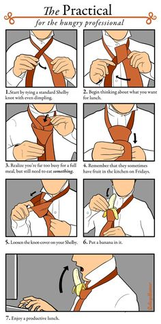 New ways to tie a tie.