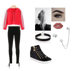 """Outfit"" by ubertastic101 on Polyvore featuring Puma, Lime Crime, G by Guess, Express and Bling Jewelry"