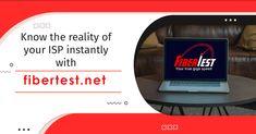 Internet Speed Test, Fiber Internet