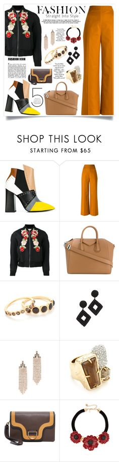 """""""New year fashion"""" by monica022 ❤ liked on Polyvore featuring Pollini, Andrea Marques, Gucci, Givenchy, Gorjana, Kenneth Jay Lane, Rebecca Minkoff, Alexis Bittar, Marc Jacobs and Kate Spade"""