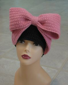 Ravelry: The Royal Bow Beanie pattern by Kristine Mullen