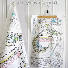 Afternoon Tea Towel By Heather Dutton