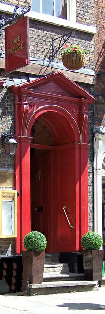 Red Door, York, North Yorkshire, England. #red #doors #myobsessionwithreddoors