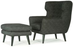 Kubrick Chair and Footstool - Hunter Furniture — Hunter Furniture