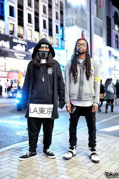 LATokyo Team in Harajuku. Leo and Eddie are part of the team behind the Los Angeles based streetwear brand LATokyo.
