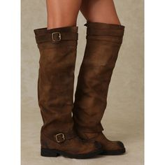 tall brown boots -- Jeffrey Campbell