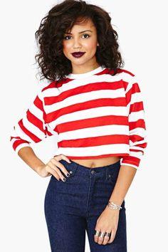 Where's Waldo Crop Top