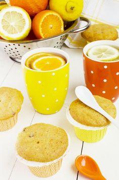 muffin, yellow