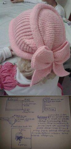 33 Ideas For Crochet Baby Turban Pattern Beanie Hats Baby Knitting Patterns, Baby Hats Knitting, Knitting For Kids, Knitting Designs, Knitted Hats, Crochet Patterns, Bonnet Crochet, Crochet Beanie, Crochet Baby