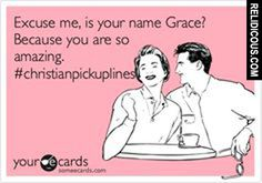 Smooth Christian pick-up line #3679