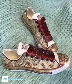 ideas for bridal party shoes converse Sparkly Converse, Converse Wedding Shoes, Converse Tennis Shoes, Prom Shoes, Bedazzled Shoes, Bling Shoes, Glitter Shoes, Bridal Party Shoes, Espadrilles