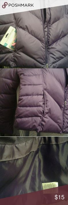 Girl's real nice winter coat Purple puffer coat no markings or holes looks just bought Faded Glory Jackets & Coats Puffers