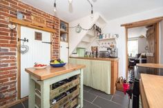 3 bedroom cottage for sale in Thurgarton - Rightmove. Wood Floors, Cottage, House, Home Decor, Handmade Kitchens, Property For Sale, Open Fireplace, Second Floor, Side Door