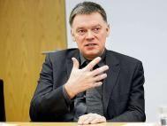 Dr. Johannes Bruns, Vorstand der Deutschen Krebsgesellschaft