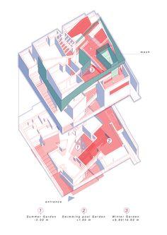 Gallery of Three Gardens House / AGi architects - 52