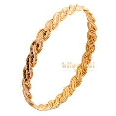 22 ayar altın örgü burma bilezik Örgü Burma - Bilezikci Gold - Türkiye'nin Lider Kuyumcusu Gold Chain Design, Gold Ring Designs, Gold Bangles Design, Gold Jewellery Design, Gold Jewelry, Gold Chains For Men, Jewelry Patterns, Pandora Jewelry, Bridal Jewelry