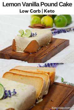 Lemon Vanilla Pound Cake Recipe