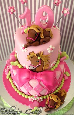 Delana's Cakes: Horses Cakes