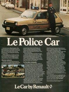 """1978 Le Car Ad """"Washington Police"""""""