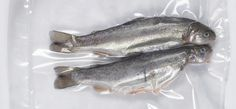 Vacuum Packing Fish | Producing a good vacuum and using good quality vacuum bags becomes extremely important when vacuum packing fish. Regardless of the type of fish, the exclusion of oxygen and moisture significantly reduces the rate at which the oils in the fish begin to breakdown. Using high quality vacuum bags is as important as using a high quality vacuum pack machine because of permeability concerns when packing fish products.