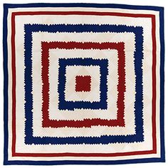 Quilt Of The Month July 2015 Maker Unknown  Circa 1920
