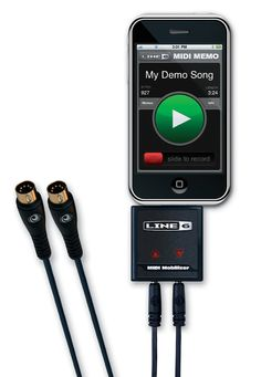 Connect any MIDI device to your iPhone® or iPad®, fire up CoreMIDI apps like GarageBand® for iPad® and make music any time, any place. http://line6.com/midimobilizer/mmii/