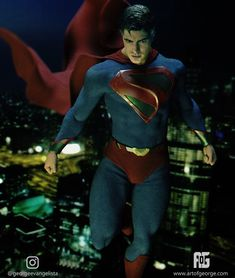 Get a great idea of how Brandon Routh might look like as the Kingdom Come version of Superman for Crisis on Infinite Earths. Mundo Superman, Batman E Superman, Superman Suit, Superman Family, Superman Man Of Steel, Supergirl Superman, Marvel Dc Comics, Dc Comics Superheroes, Dc Comics Art