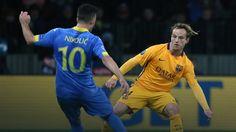 LM: FC Barcelona wymęczyła wygraną z BATE Borysów