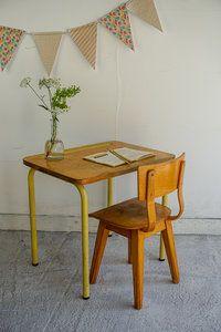 Vintage bureautje van Liefs van Liesje